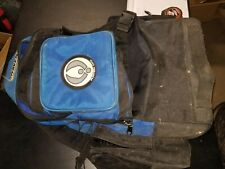 Raven Usa Paintball Expanding Storage Padded Bag Backpack Blue and Black
