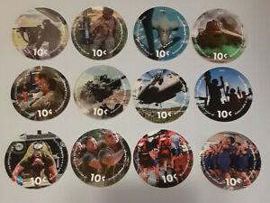 16 th  Print 10 cents set  AAFES Pog  2017 U.S. ARMY Money  About Uncirculation
