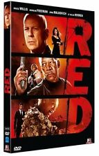 DVD *** RED *** avec Bruce Willis, Morgan Freeman ...