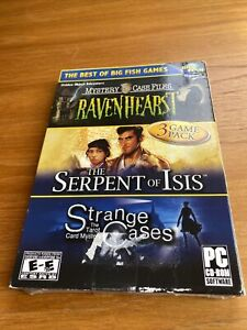 Mystery Case Files, Ravenhearst Serpent of Isis Strange Cases (PC CD-ROM) New