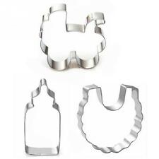 Stainless Steel Cookie Cutter Cake Mold DIY Cake Pastry Tools Cookie Mold 3pcs