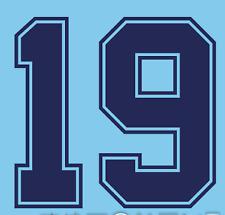 England Gascoigne Nameset Shirt Soccer Number Letter Heat Print Football 1990 3