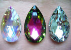New Wholesale Fashion shiny water-drop Crystal Glass Beads Pendants more Size