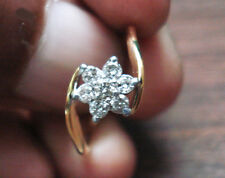 0.22ct Diamond Solid Yellow Gold Thanks Giving Day Engagement Women's Ring