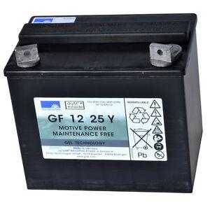 Exide Sonnenschein GEL Dryfit Traction Block GF 12 25Y wartungsfreie GELBatterie