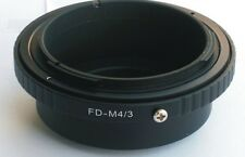Canon FD to Micro 4/3 M43 Mount Adapter G3 GH2 GF5 EPL5 E-P3 GX1 OM-D FD-M43