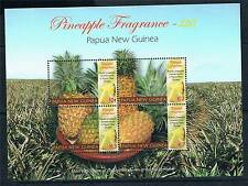 Papua New Guinea 2011 Pineapple Fragrance 4v sheet MNH