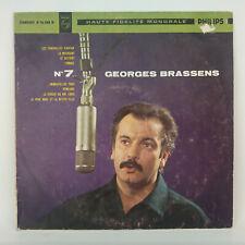 """Georges Brassens – Les Funérailles D' Antan - Vinyl LP 10"""" - 25 CM - 1960 - N°7"""
