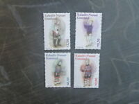2016 GREENLAND COSTUMES SET 4 MINT STAMPS MNH