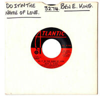 "SOUL.BEN E.KING.DO IT IN THE NAME OF LOVE / IMAGINATION.U.S.ORIG 7"".EX+"