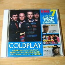 EMI Sound Town Sampler Jul.2008 JAPAN Promo CD Coldplay, Karl Wolf...#C04*