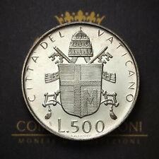 VATICANO - 500 LIRE - GIOVANNI PAOLO II - 1980 - ARGENTO - FIOR DI CONIO