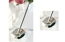 New Wedding Contemporary Silver-Plated  Pen and Base