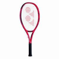 Yonex Vcore 25 Tennis Racquet, 100 Square Inches, Strung, Flame Red