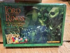 Games Workshop Strategy Battle Lord of the Rings Fellowship Paint Set New Sealed