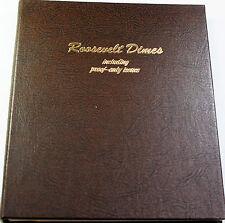 1946-2002 Roosevelt Dime Coin Collection Set BU & Proof Dansco 8125 Folder (A)