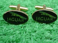 JAGUAR GOLD COLOURED CUFF LINKS