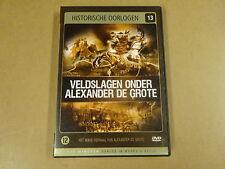 DVD / HISTORISCHE OORLOGEN N. 13 - VELDSLAGEN ONDER ALEXANDER DE GROTE