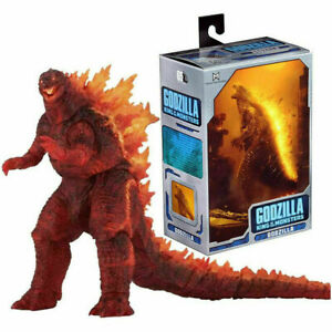 Monster Arts Burning Godzilla 2019 King of the Monsters Action Figure Model US