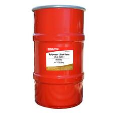 SINOPEC RED MULTIPURPOSE LITHIUM GREASE #2 - 120LB. (16 GALLON) KEG