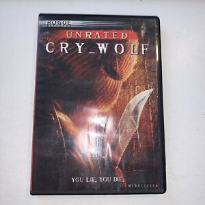 Cry_Wolf (DVD, 2005, Full Frame - Rated)