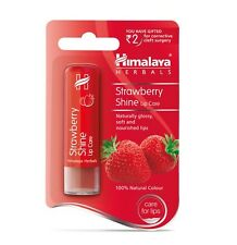 Himalaya Herbals Strawberry Shine Lip Care 100% Natural Color