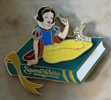 Disney Wdi Treasury Of Tales Storybook Series Snow White & Blue Bird Pin Le 250