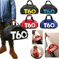 Gym Sports Bag Travel Backpack Duffle Shoes Compartment Fitness Shoulder Handbag