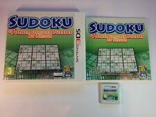 Sudoku +7 Other Complex Puzzles by Nikoli - Nintendo 3DS - 2DS, XL
