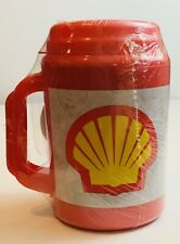 Vintage Aladdin Shell Gas Oil Insulated Travel Drink Coffee Mug Cup Collectible