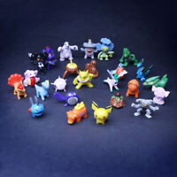 Whole Sale 144 pcs Pokemon Mini PVC Action Figures pikachu Toys Kids Gift party