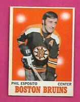 1970-71 OPC # 11 BRUINS PHIL ESPOSITO EX-MT CARD (INV# D5759)
