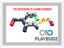 Combo Pack (2 Pairs) - Playbudz PS4 Controller Grip Extenders