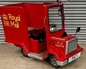 Rascal Pioneer mobility scooter based Postman Pat Van...