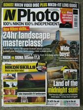 N Photo September 2018 issue 89 Nikon Wide angle Zoom 105mm f/1.4 Skills disc