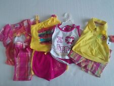 """Apple Bottoms Baby Girl 12 Month Lot of 8 Outfits """"NEW"""""""