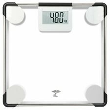 ToiletTree Products Digital Clear Glass Bathroom Scale, 400 Lbs Capacity