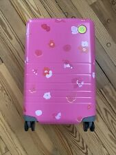 DRUNK ELEPHANT Trunk 5.0 2021 MONOS SUITCASE Luggage Limited Edition Pink Floral