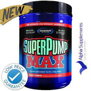 GASPARI Nutrition Superpump Max Pumping Pre Workout Energy Endurance 640g |NEW!