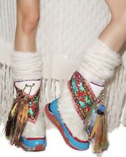 Irregular Choice Rare Blizzard Multicoloured Light Up Winter Boots UK4 EU37