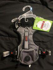 Kong Small Comfort + Reflective Grey Waste Bag Harness NEW