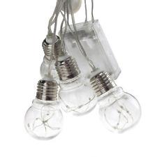 Christmas Light Bulbs Fairy String Lights, Multi-Color, 48-Inch