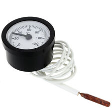 Thermometer capillary Temperature Gauge 0-120C Water & Oil 1.5 Meter Sensor