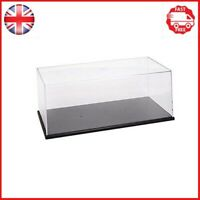 """Triple9 Collectors Showcase Clear Plastic Display for 1/24"""" and 1/64"""" Scale"""