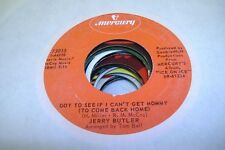 Soul 45 Jerry Butler - Got To See If I Can'T Get Mommy (To Come Back Home) / I F