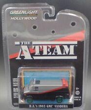 "New listing Greenlight ""The A-Team"" 1983 Gmc Vandura Chase Green Car 1:64 Diecast Car 44790B"