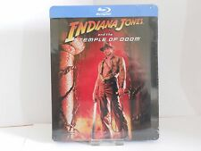 Indiana Jones And The Temple Of Doom Blu Ray Steelbook New And Sealed