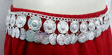 EGYPTIAN METAL COINS HIP BELT CHAIN BELLY DANCE PROFESSIONAL TRIBAL KUCHI GYPSY
