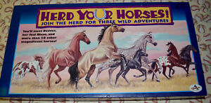 Herd Your Horses Board Game Replacement Pieces Parts 1997 Aristoplay