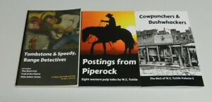 Best of W.C. Tuttle pulp collections Vol. 1-3 Tombstone & Speedy Piperock
